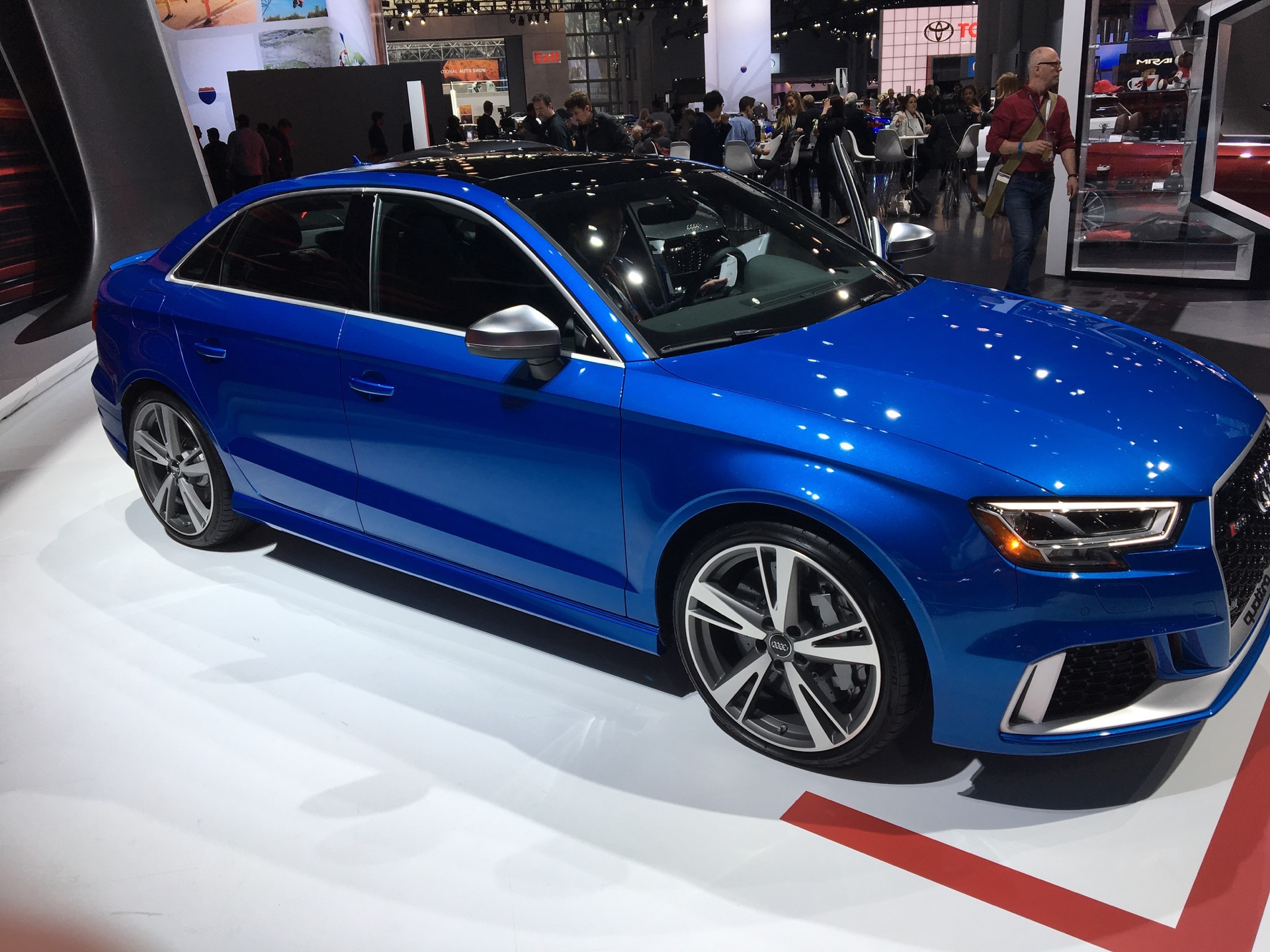 2017 NYIAS: Audi RS3 Sedan to take on BMW M2