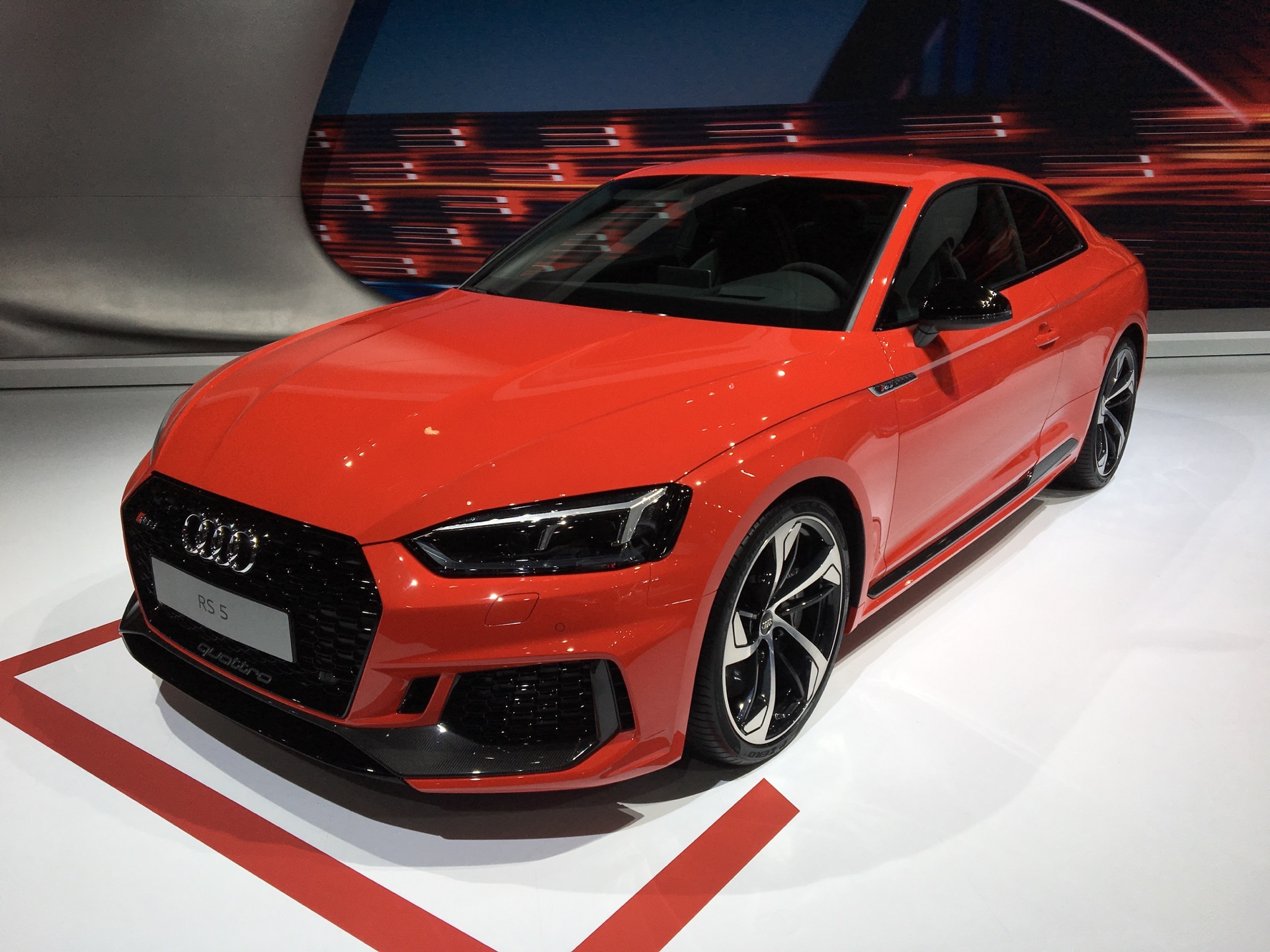 2017 nyias audi rs5 coupe. Black Bedroom Furniture Sets. Home Design Ideas
