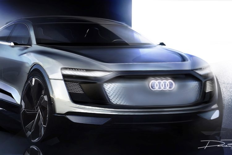 Audi E Tron Sportback Concept To Debut In Shanghai Take On Bmw I3