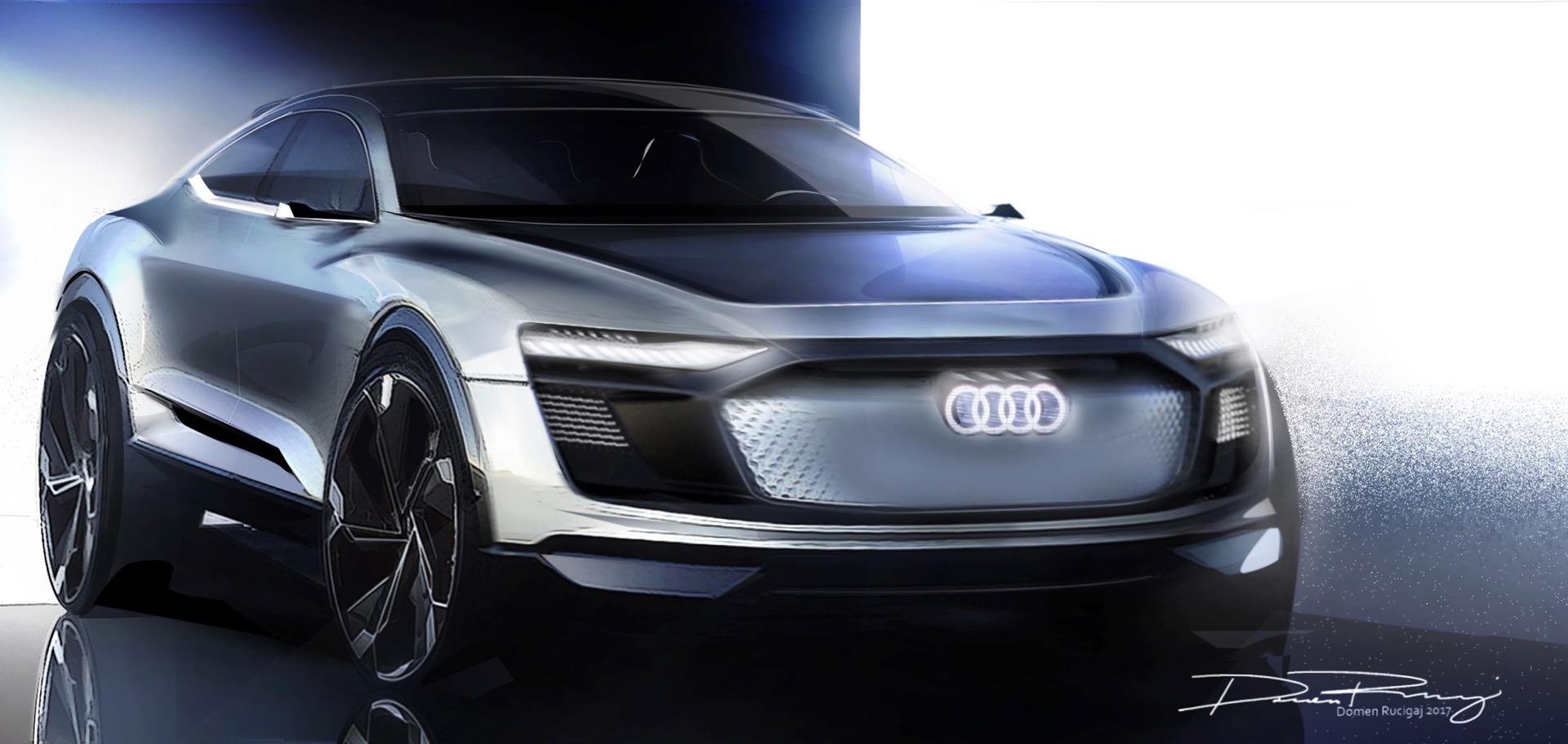 2018 Audi e tron Sportback Concept 3