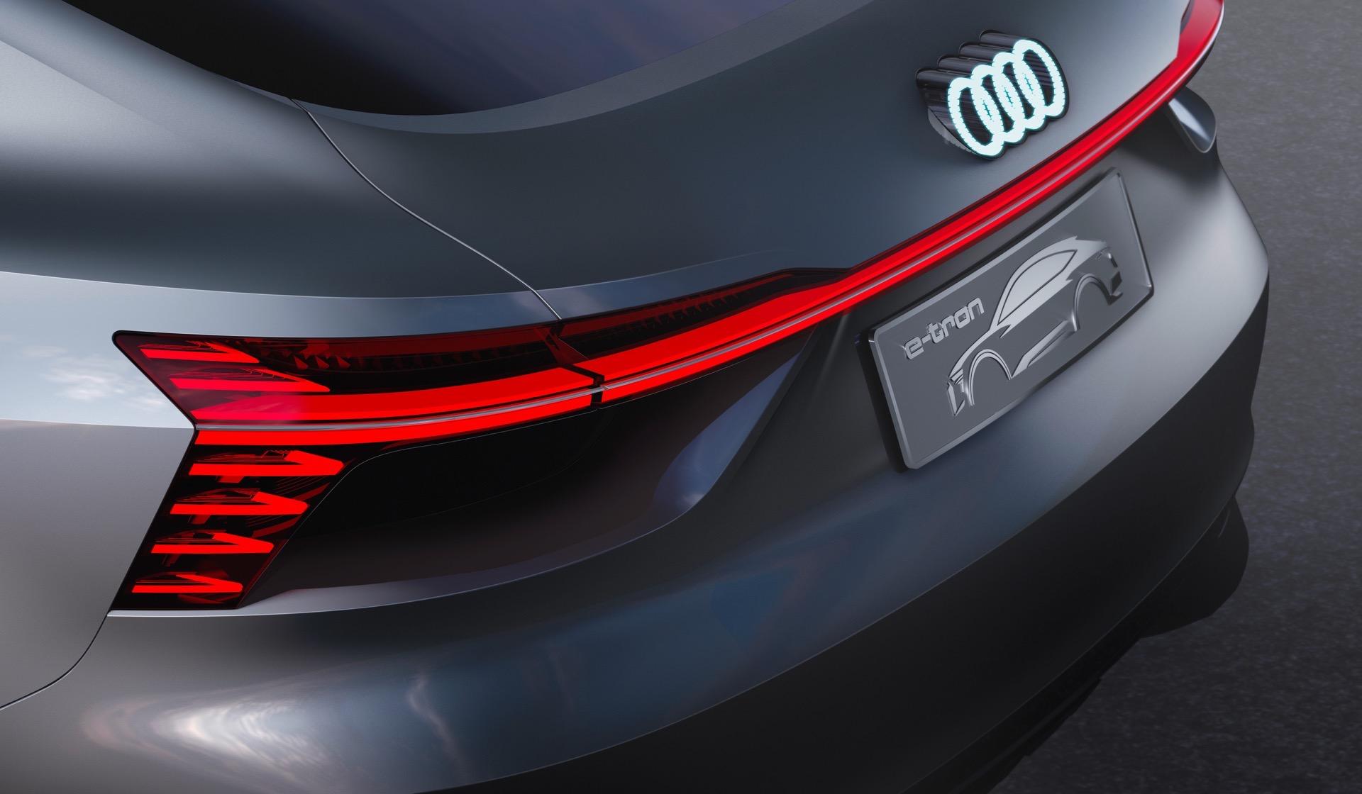 2018 Audi e tron Sportback Concept 7