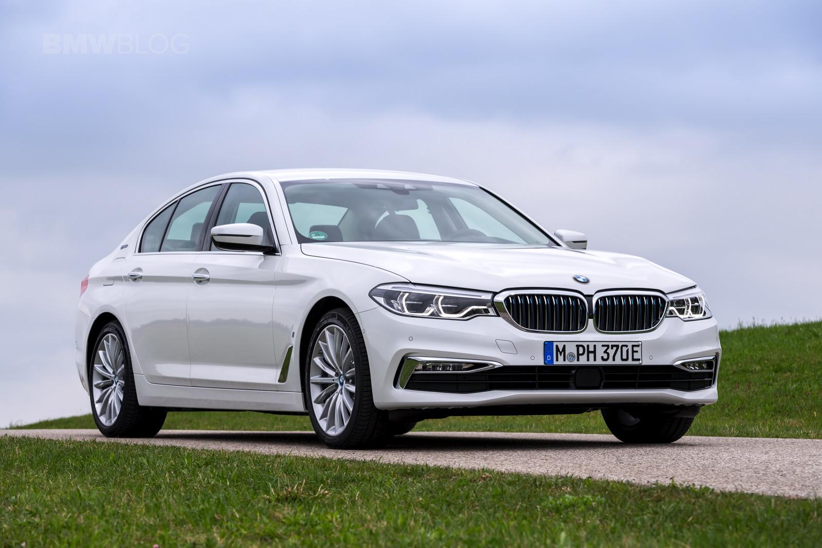 2018 BMW 530e test drive 41