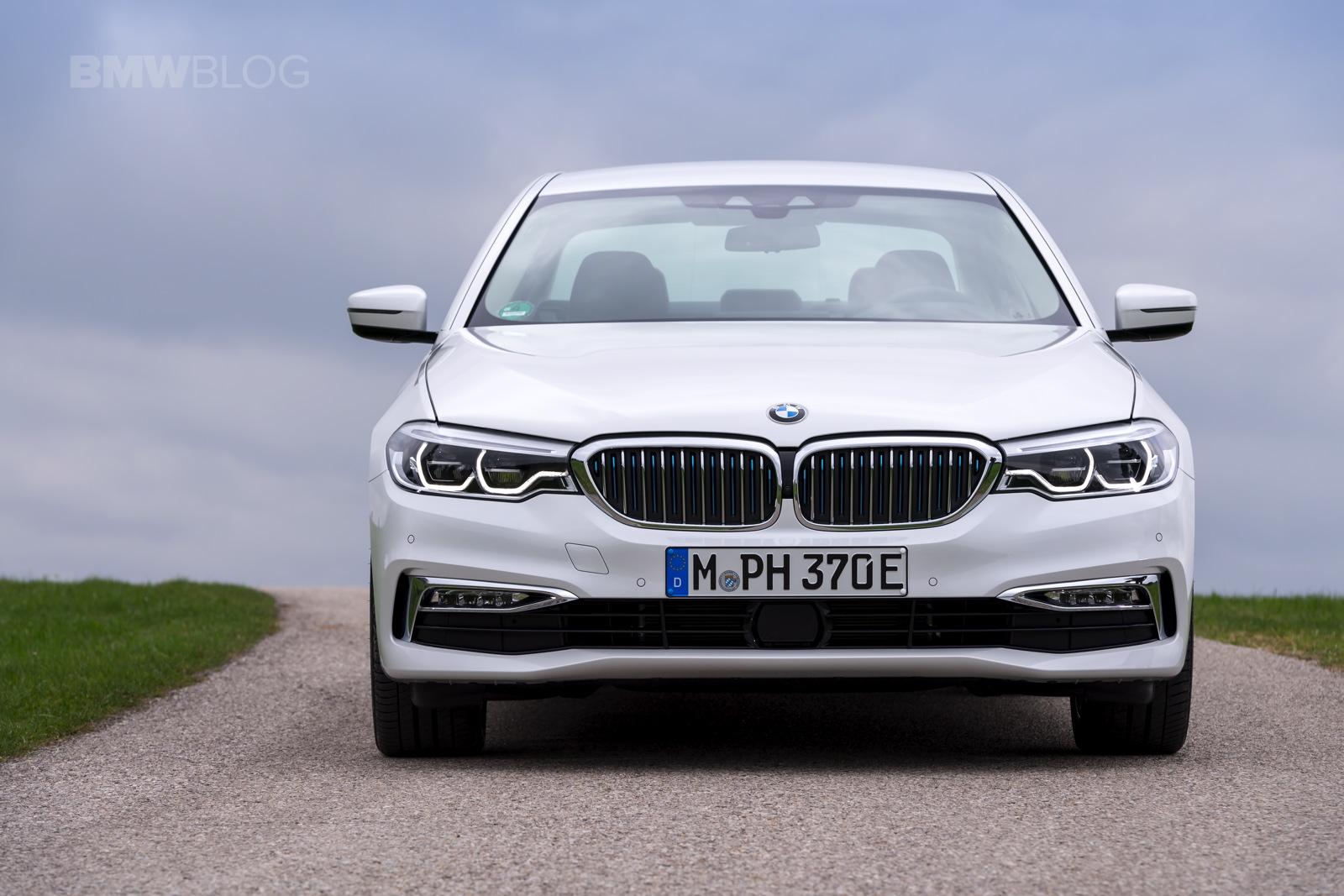 2018 BMW 530e test drive 43