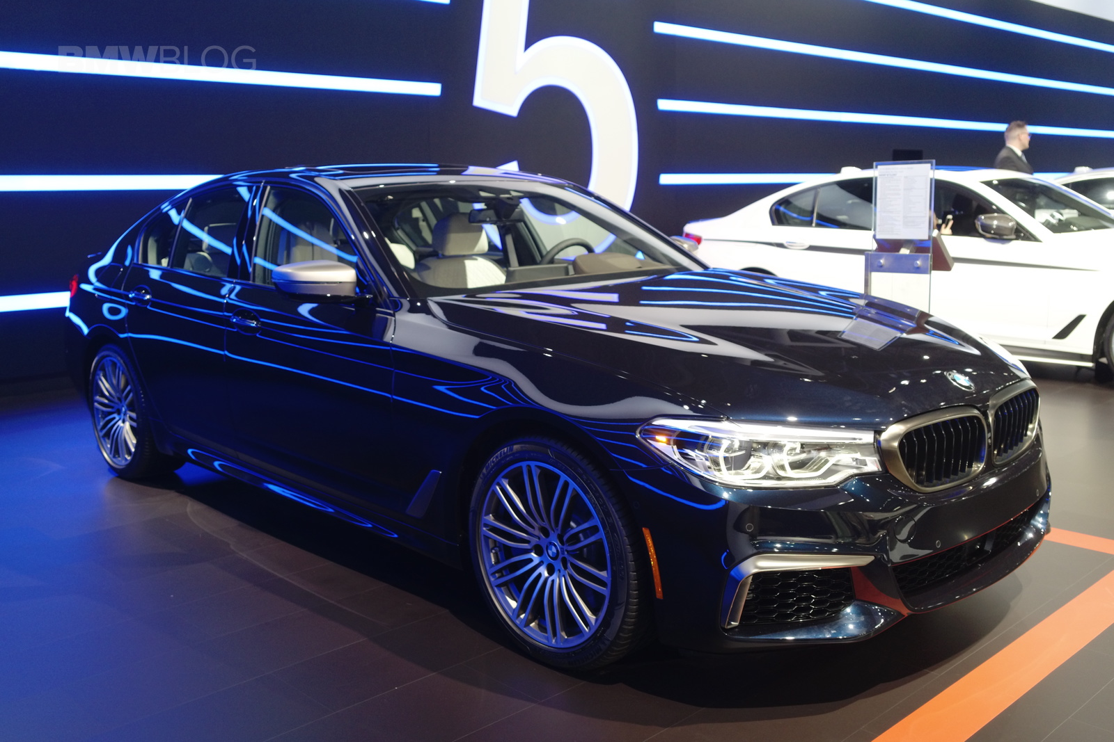fastest bmw 5 series ever comes to new york auto show. Black Bedroom Furniture Sets. Home Design Ideas