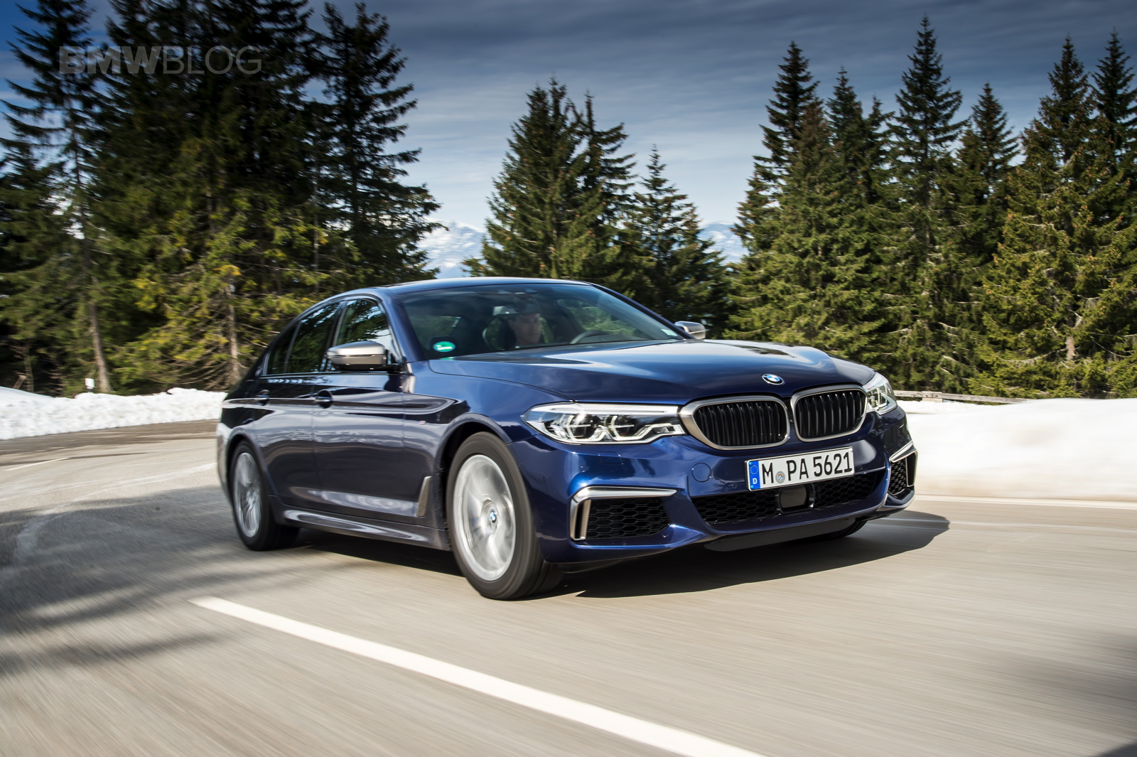 2018 BMW M550i xDrive test 05