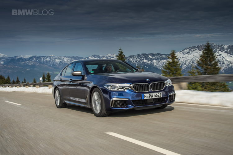 2018 BMW M550i xDrive test 10 750x499
