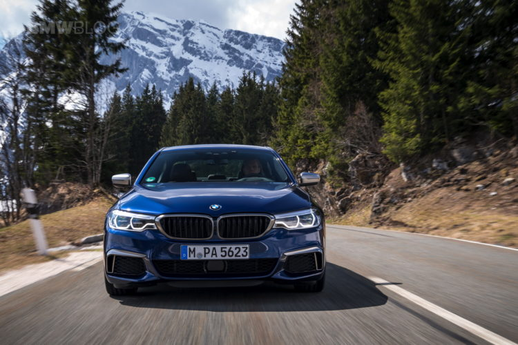 2018 BMW M550i xDrive test drive 04 750x500