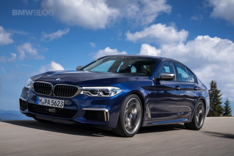 2018 BMW M550i xDrive test drive 05 750x500