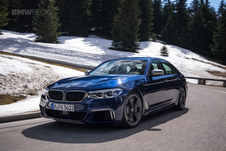 2018 BMW M550i xDrive test drive 09 750x500