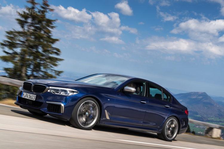 2018 BMW M550i xDrive test drive 10 750x500