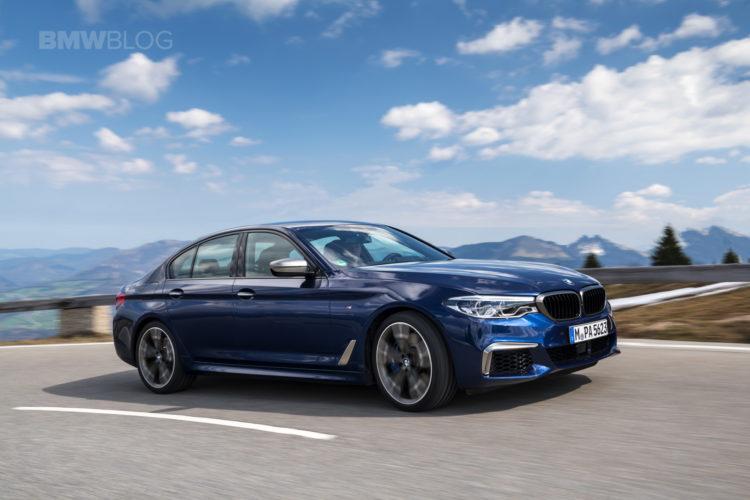 2018 BMW M550i xDrive test drive 11 750x500