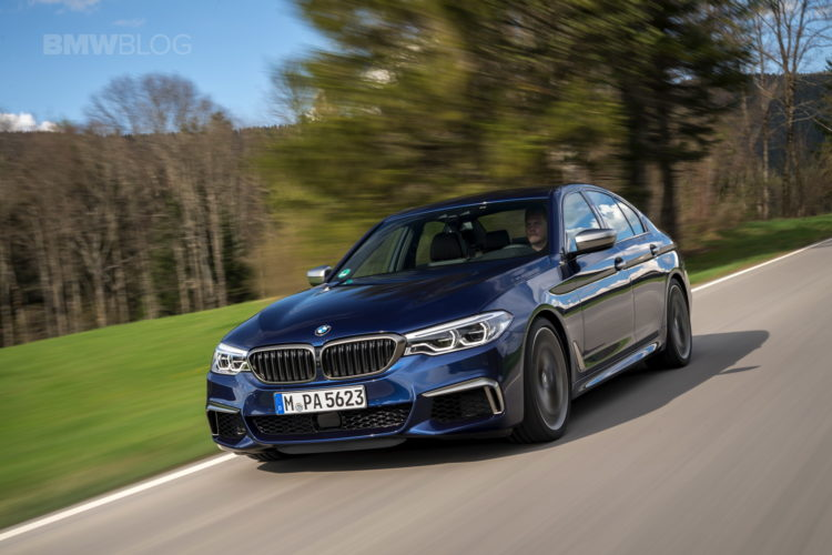2018 BMW M550i xDrive test drive 17 750x500