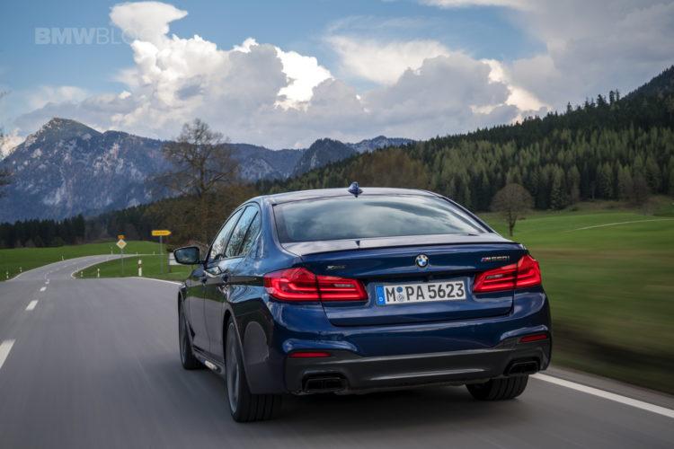 2018 BMW M550i xDrive test drive 19 750x500