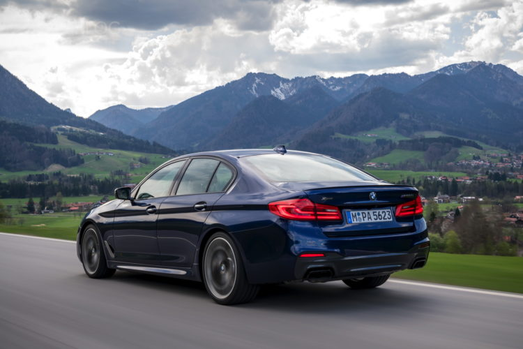 2018 BMW M550i xDrive test drive 20 750x500