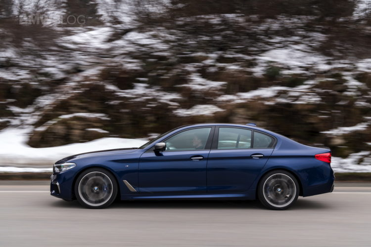 2018 BMW M550i xDrive test drive 22 750x500