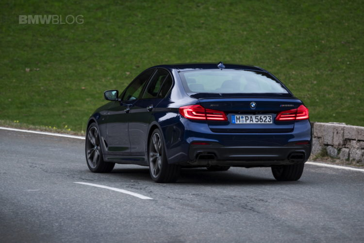 First Drive The Fastest 5 Series Ever Bmw M550i Xdrive