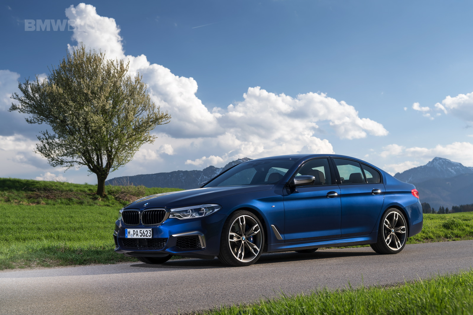 The BMW M550i is a fast, if unexciting cruiser — Automobile Mag