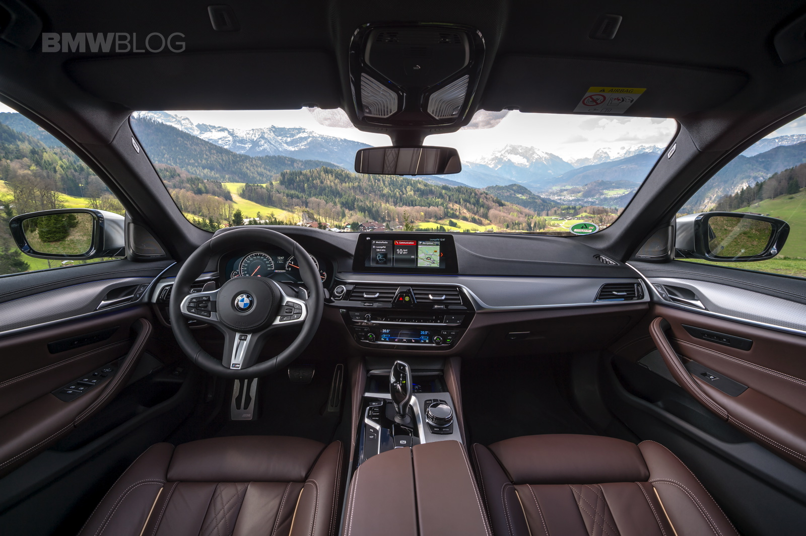 first drive the fastest 5 series ever bmw m550i xdrive. Black Bedroom Furniture Sets. Home Design Ideas