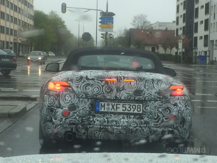2018 BMW Z4 spy photos 02 e1492529720141 750x563