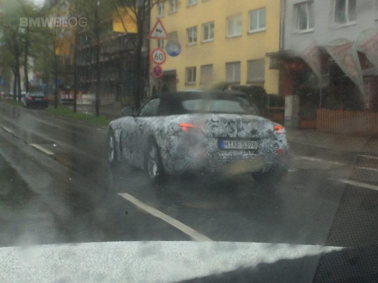 2018 BMW Z4 spy photos 05 750x563