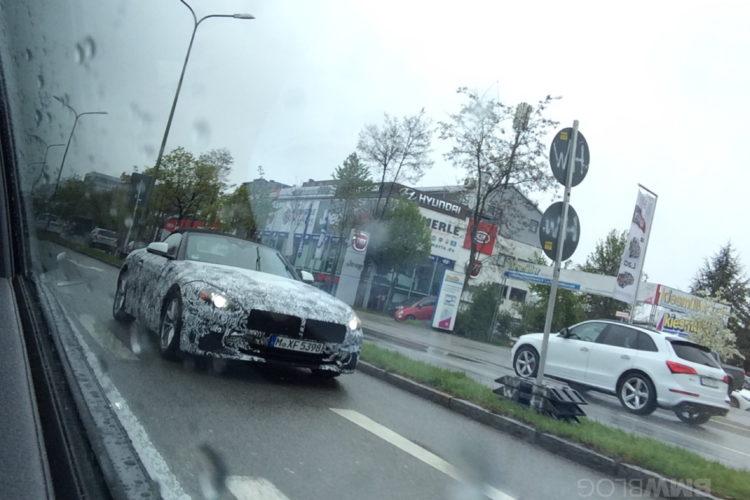 2018 BMW Z4 spy photos 09 e1492529743390 750x500