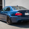 Mystic Blue BMW E46 M3