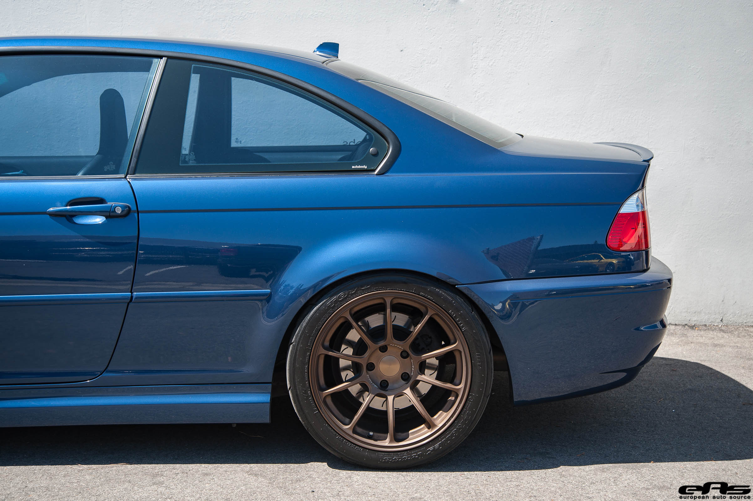 A Mystic Blue BMW E46 M3 Gets Aftermarket Goodies At European Auto Source 3