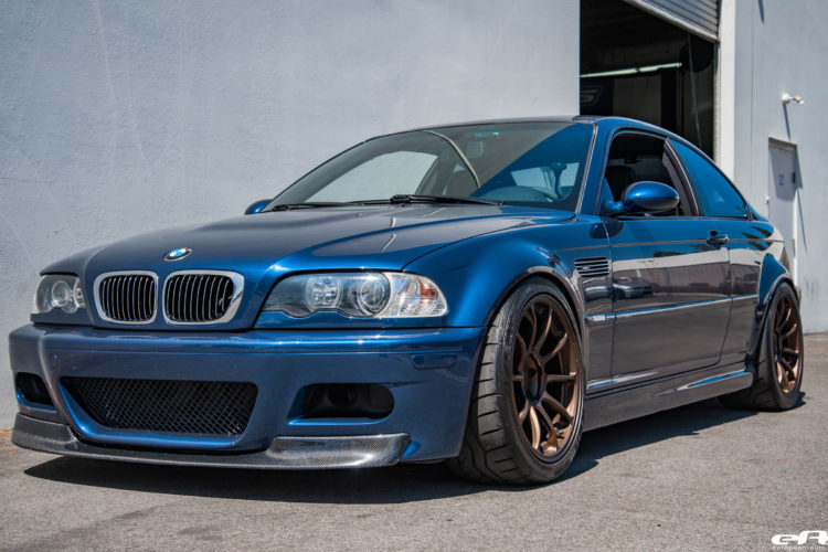 A Mystic Blue BMW E46 M3 Gets Aftermarket Goodies At European Auto Source 4 750x500
