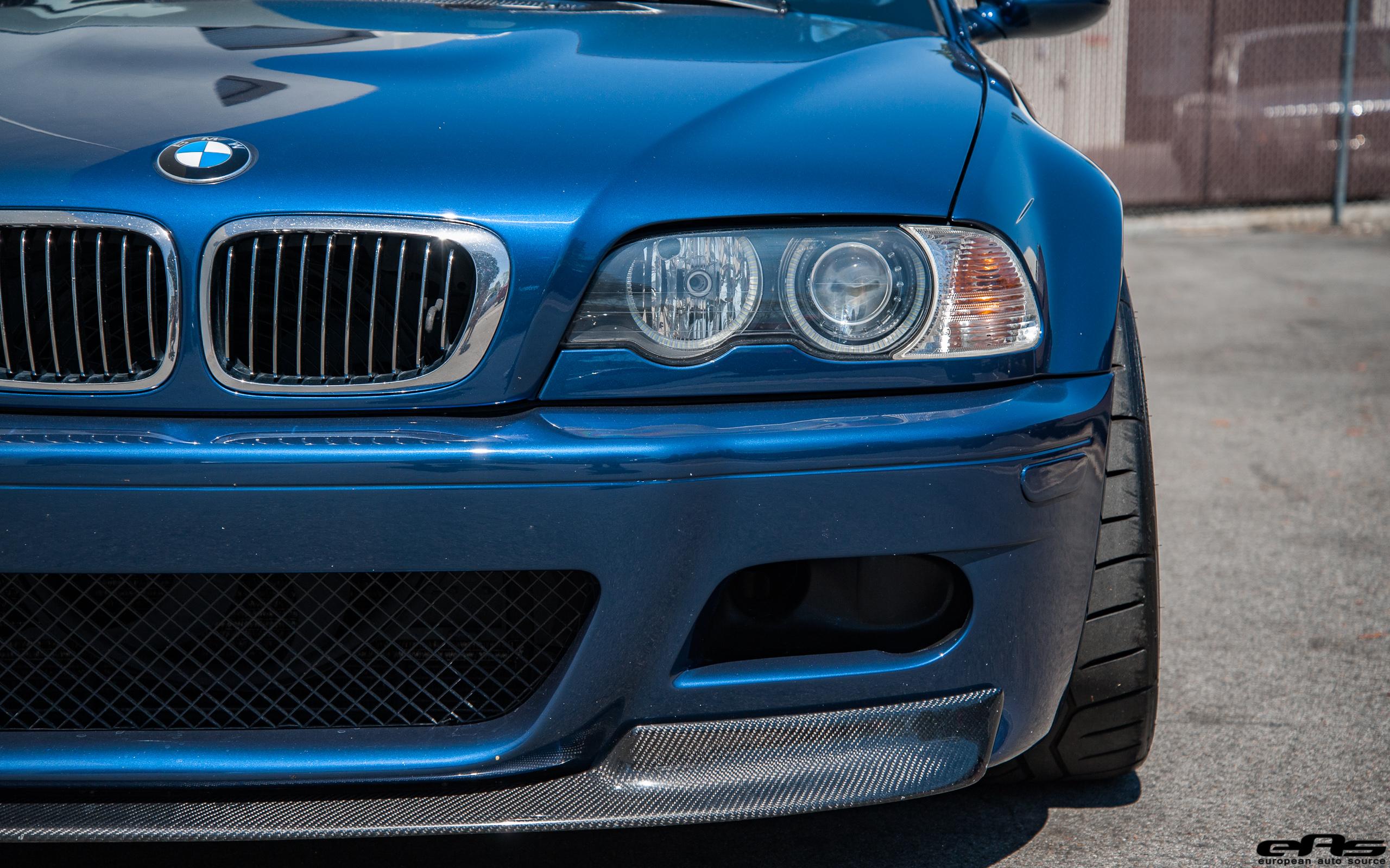 A Mystic Blue Bmw E46 M3 Gets Aftermarket Goodies At European Auto