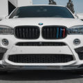 Alpine White BMW X6 M