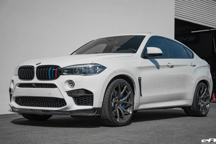 Alpine White BMW X6 M With AC Schnitzer Akrapovic RKP And Vorsteiner Parts 6 750x500