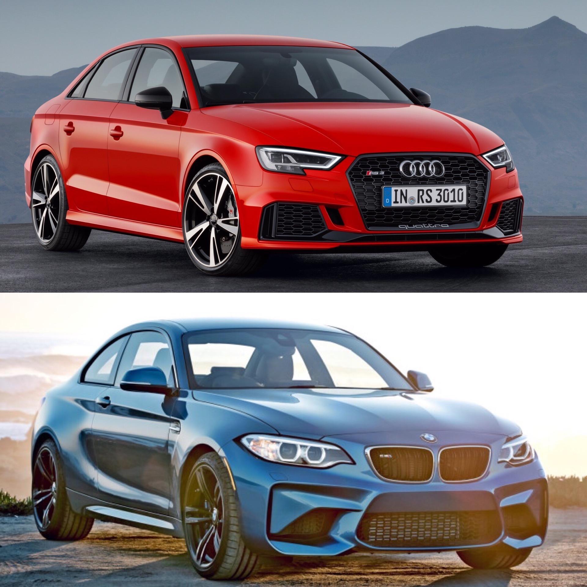 Which To Buy BMW M Or Audi RS Sedan - What car is better audi or bmw