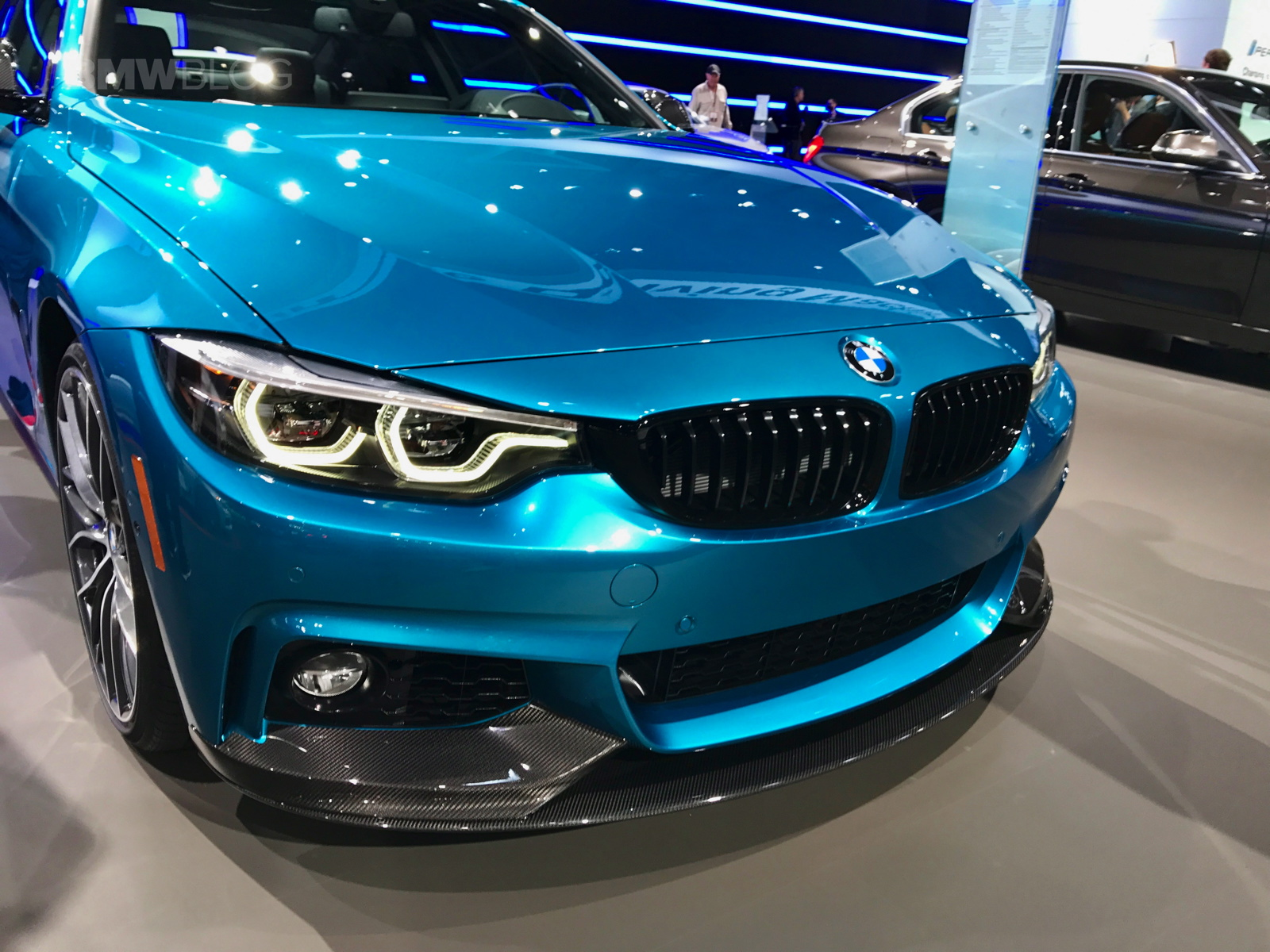 2017 New York Auto Show Bmw 440i In Snapper Rocks Blue
