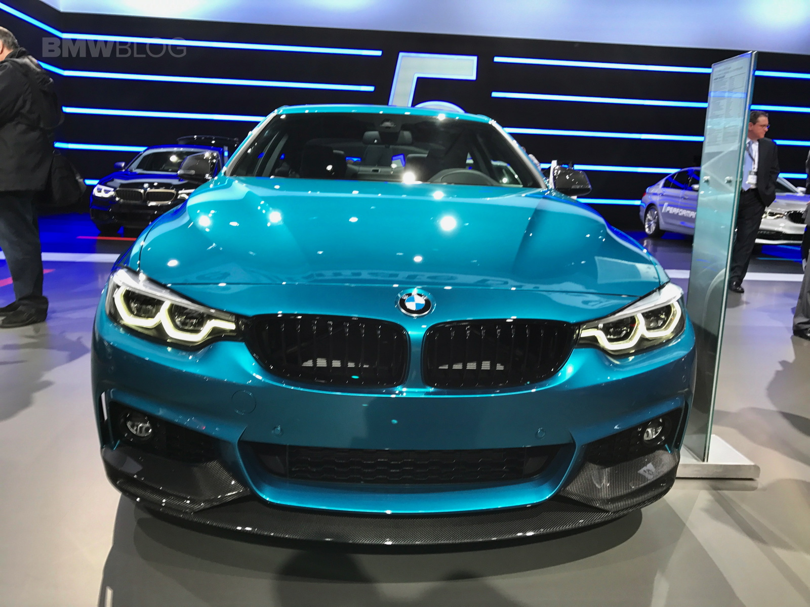 BMW 440i Snapper Rocks Blue 13