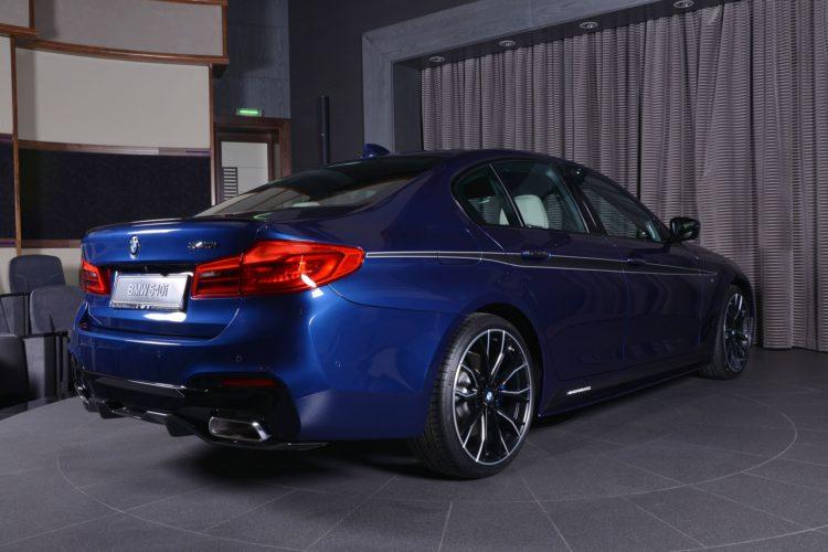 BMW 5er G30 M Performance Tuning Mediterranblau Abu Dhabi 05 750x500