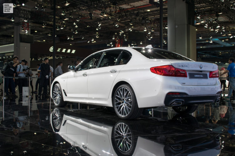 BMW 5er Langversion 2017 China G38 Live in Shanghai 03 750x500