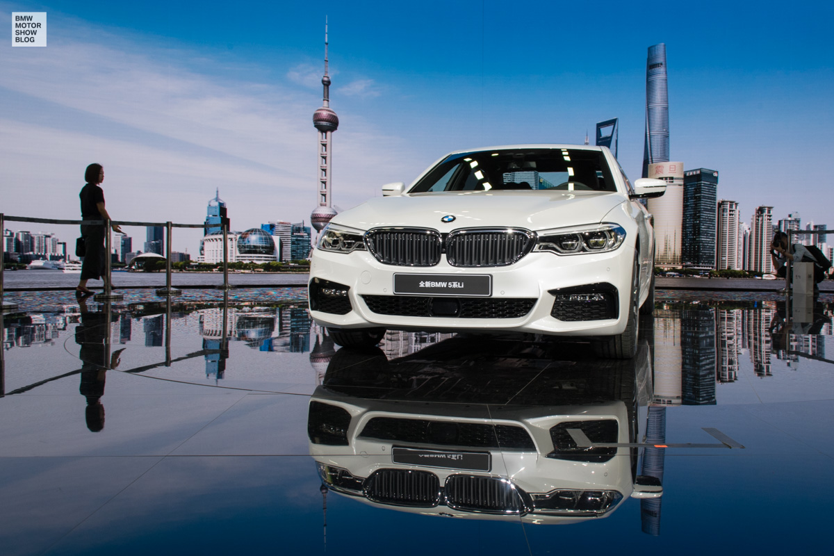 BMW 5er Langversion 2017 China G38 Live in Shanghai 05
