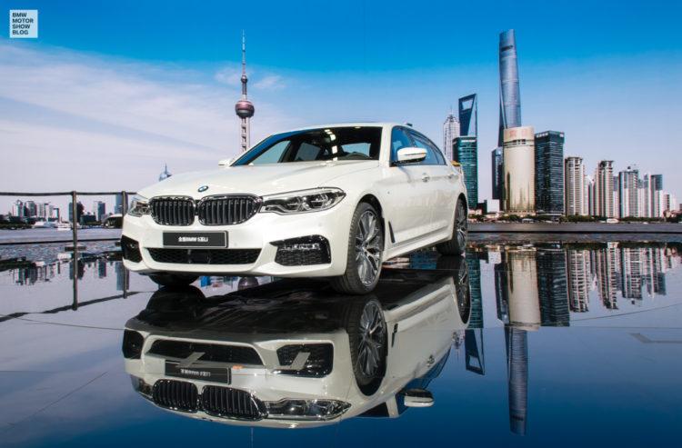 BMW 5er Langversion 2017 China G38 Live in Shanghai 06 750x493