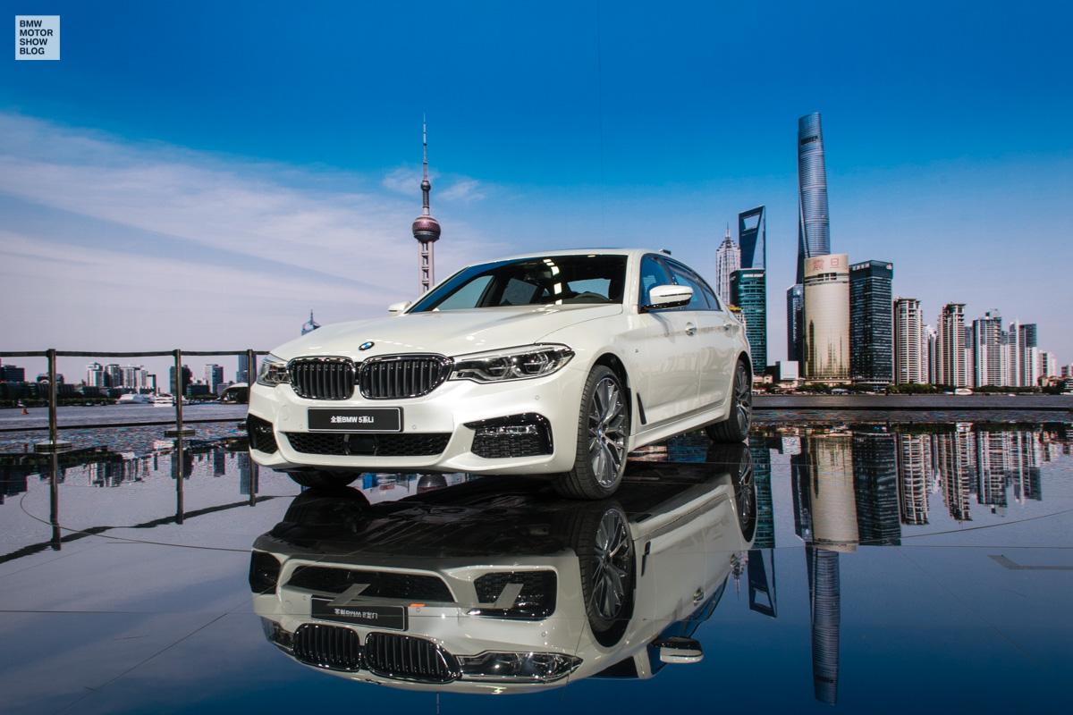BMW 5er Langversion 2017 China G38 Live in Shanghai 13