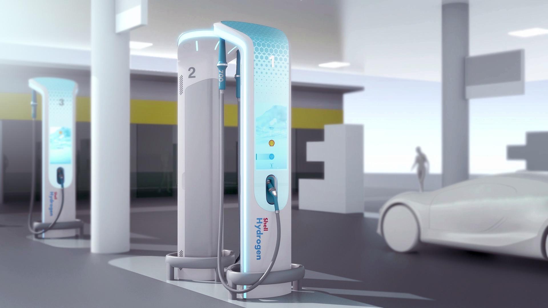 BMW Designworks Hydrogen Fuel Station 1