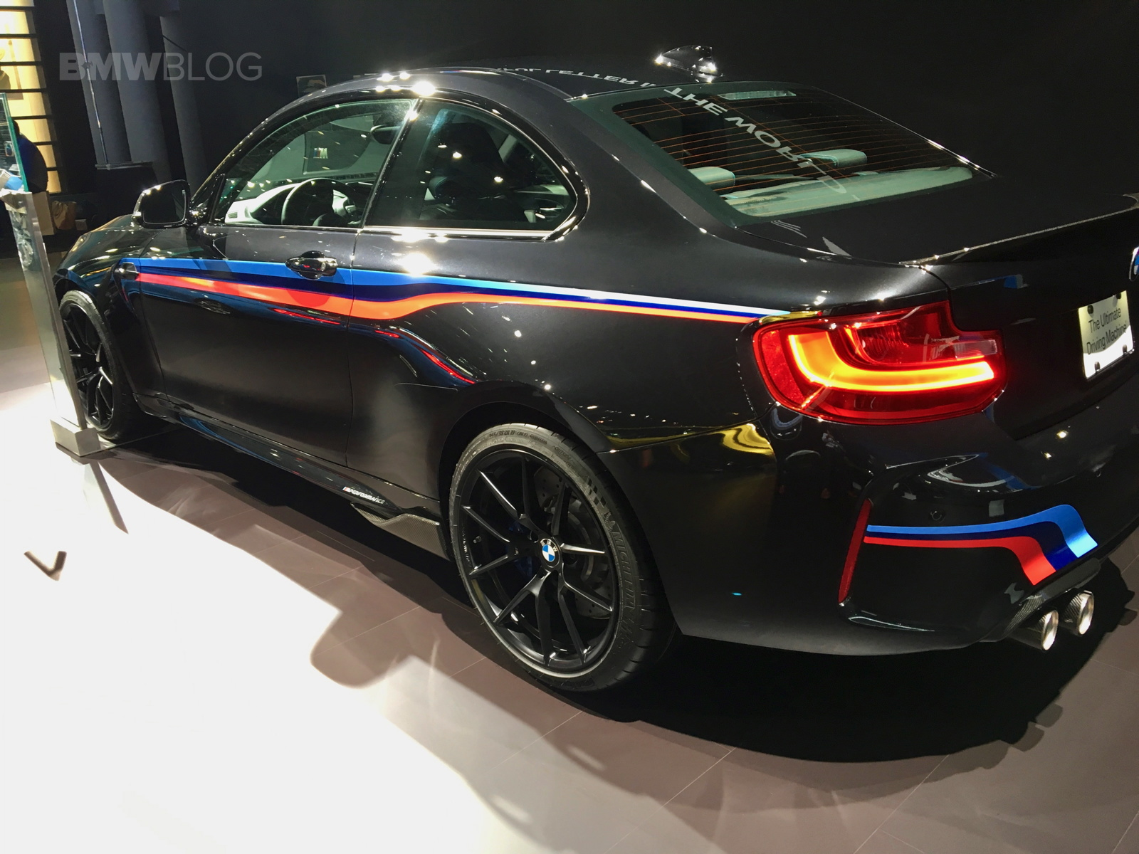 BMW Performance Driving School >> 2017 NYIAS: BMW M2 shows new 763M Style wheels