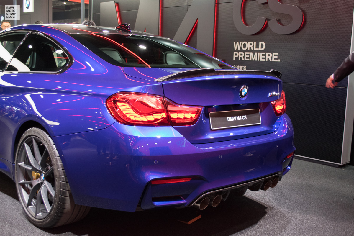 BMW European Delivery >> BMW M4 CS live from Shanghai