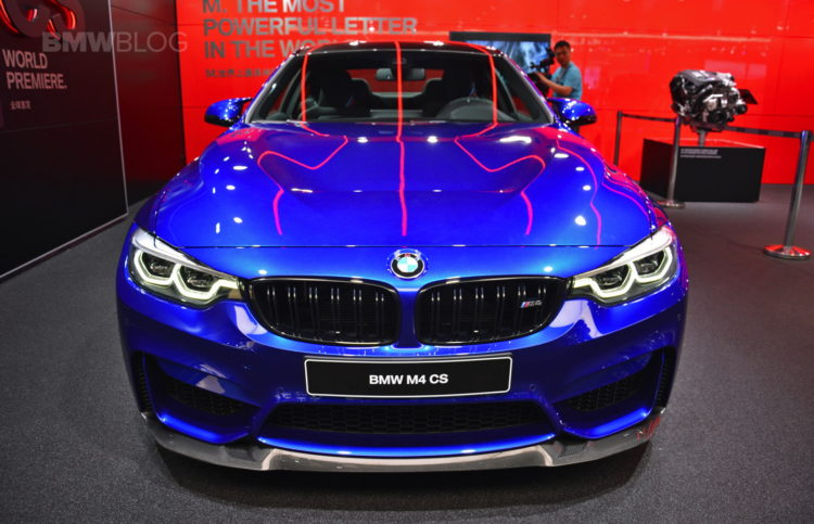 BMW M4 CS Shanghai Auto Show 01 750x483