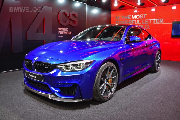 BMW M4 CS Shanghai Auto Show 14 750x500