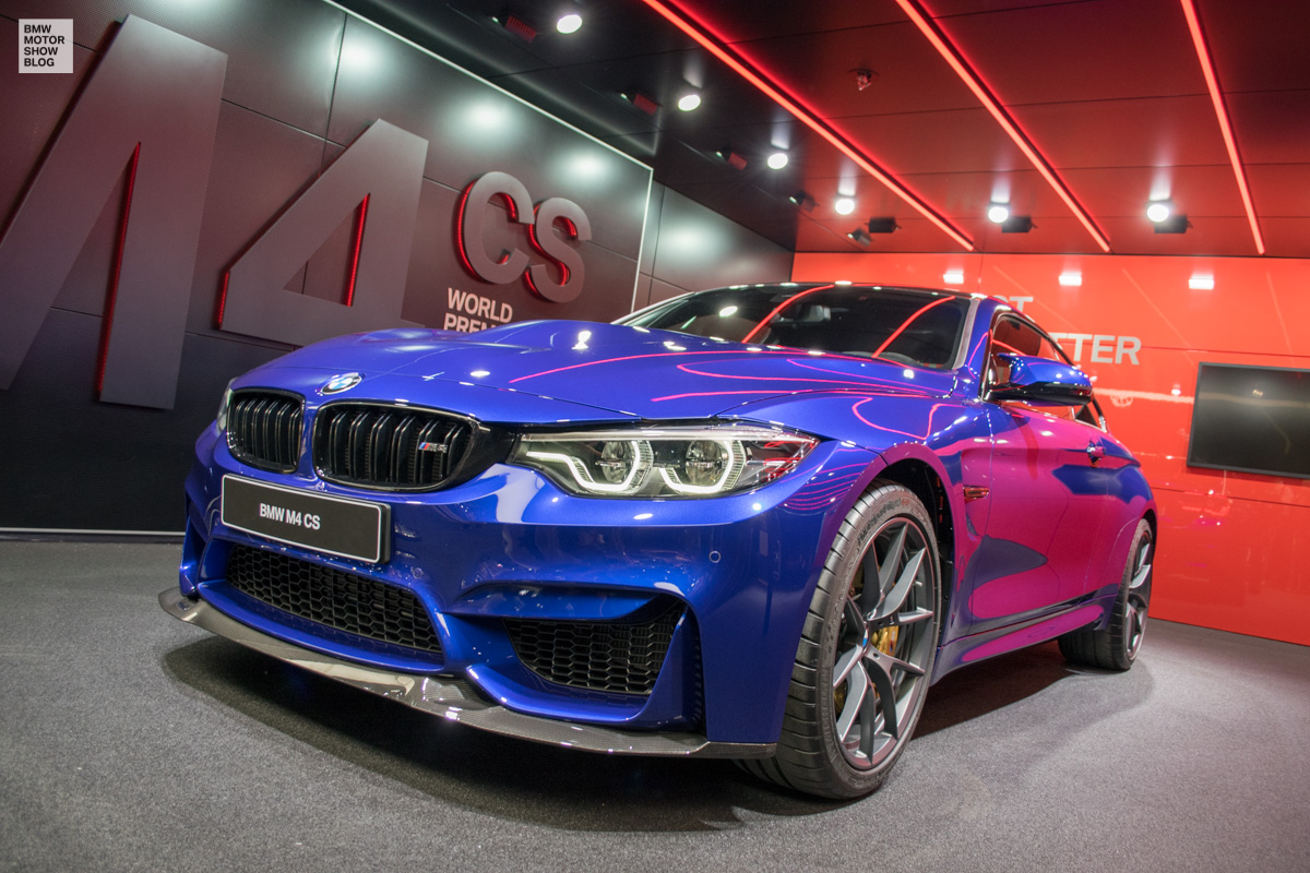 Bmw M4 Cs Live From Shanghai