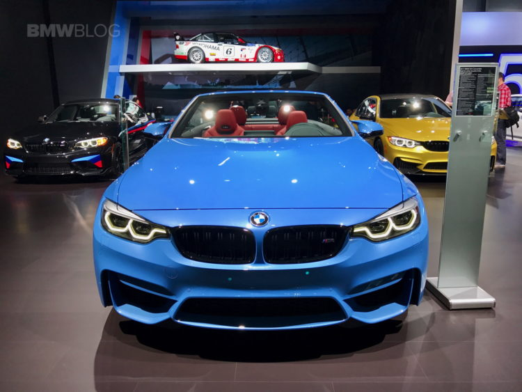 Dual Clutch Transmission >> 2017 NYIAS: BMW M4 Convertible with Competition Package
