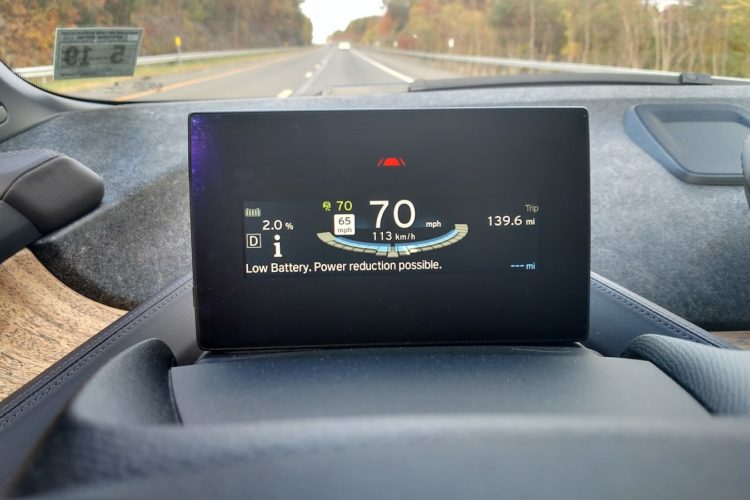 Report: Incorrect State Of Charge Readings on the i3
