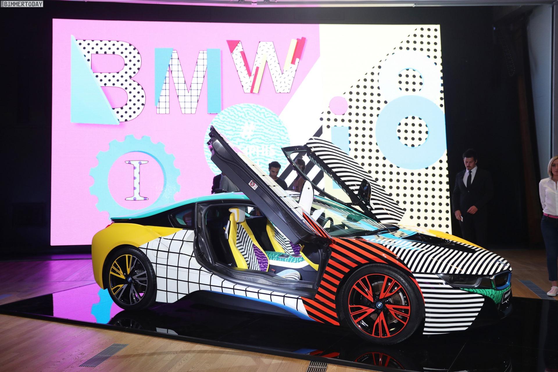 BMW i8 Memphis Style Edition 2017 Garage Italia 02