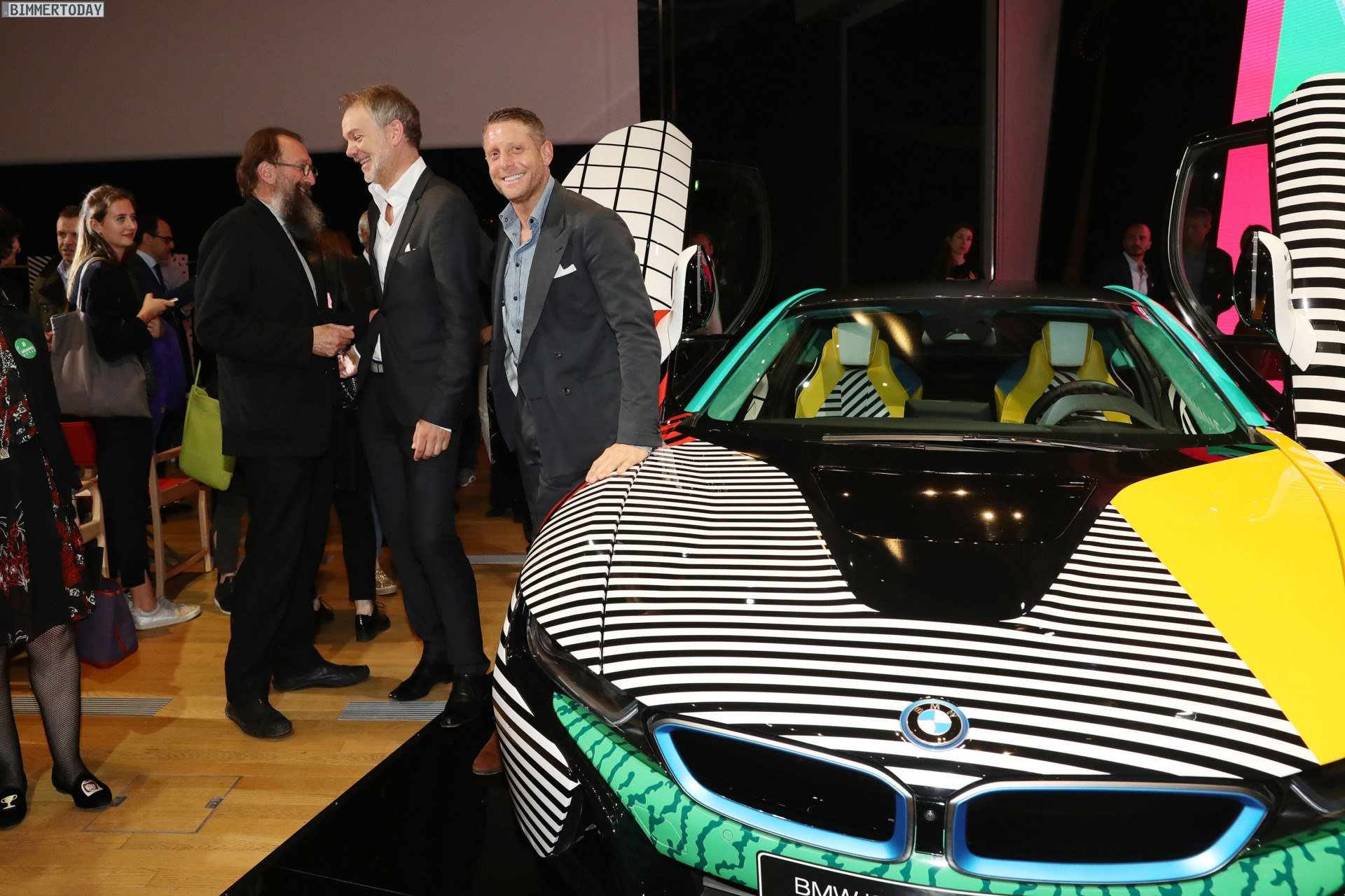 New Photos Of The Stylish Bmw I8 Memphis Style Edition