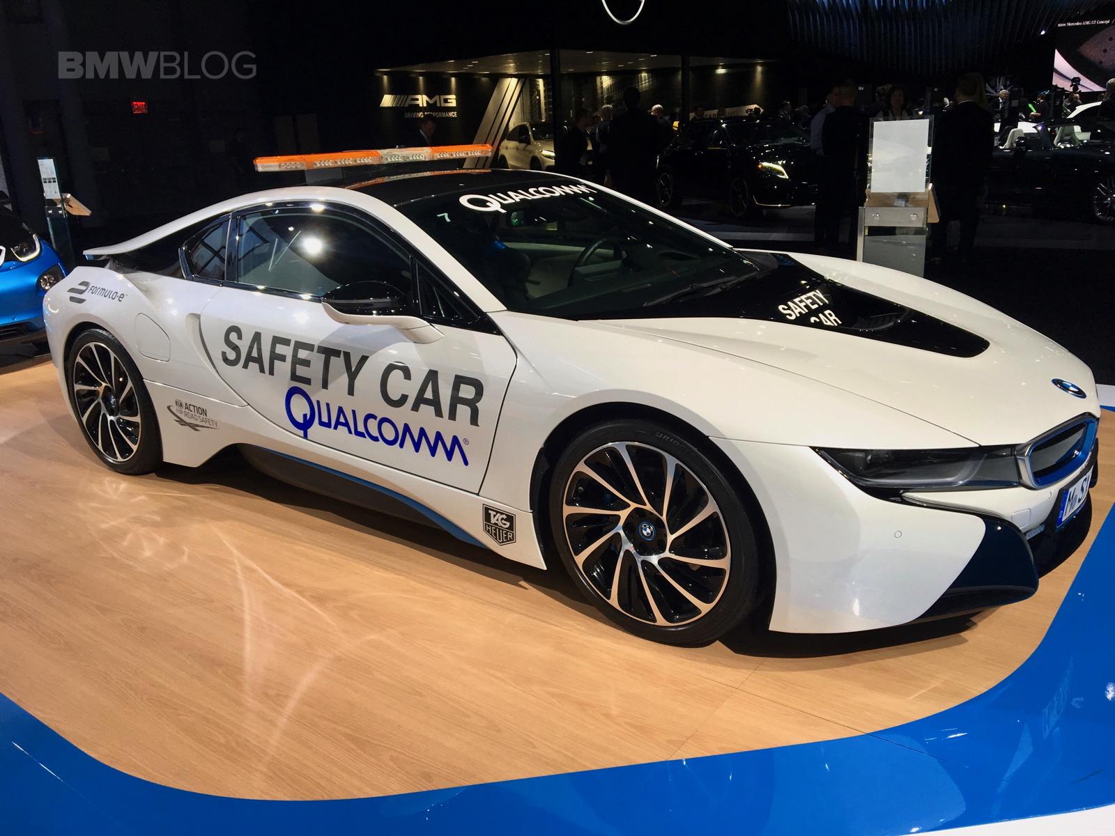 BMW i8 Safety Car nyc show 02